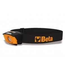 Lampada da testa a LED, con doppia luminosità e sensore ON/OFF contactless - BETA 1836A
