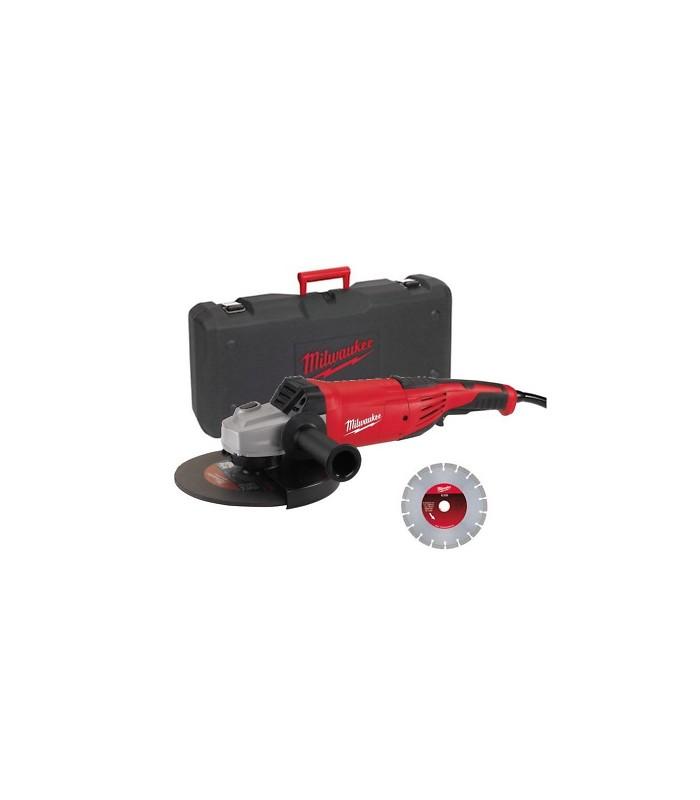 AG 22-230/DMS Smerigliatrice angolare 2200 W disco 230 mm