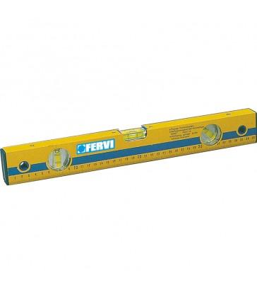 Livella in alluminio millimetrata  Fervi 0824/600