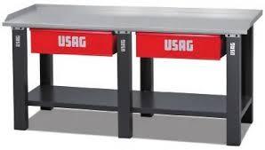 Banco Di Lavoro Con Cassetti : Usag a banco lavoro usag cassetti portata statica lamiera