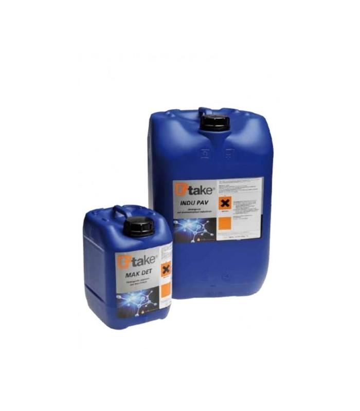 TTAKE MAK DET Detergente acquoso per macchinari, 5 kg.
