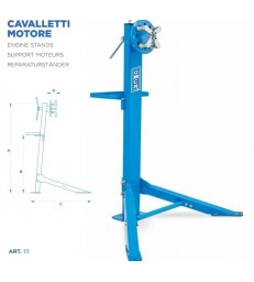 CAVALLETTO REVISIONE MOTORI OMCN 111