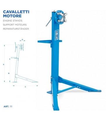 Cavalletto per revisione dei motori OMCN 111