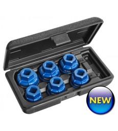 Assortimento 6 bussole per filtri olio e200239 pastorino expert
