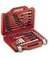 Assortimento in cassetta modulare con bussole esagonali e chiavi combinate USAG 601 1/4-1/2 J82