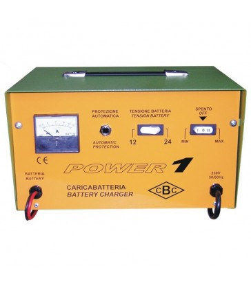CARICA BATTERIE 12/24V 15A 230V - CBC POWER 1