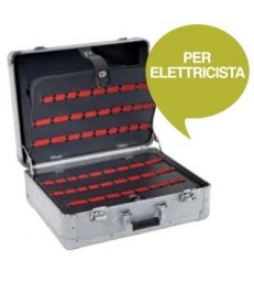 Valigia in alluminio per elettricista - TTAKE