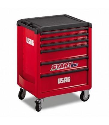 Carrello 516 START USAG 6 cassetti vuoto