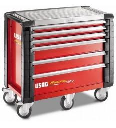 CARRELLO RACING - 6 CASSETTI (VUOTO) USAG 519 R6/5V
