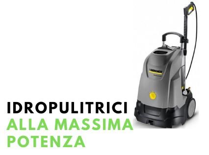 Idropulitrici, aspiratori e lavasciuga pavimenti